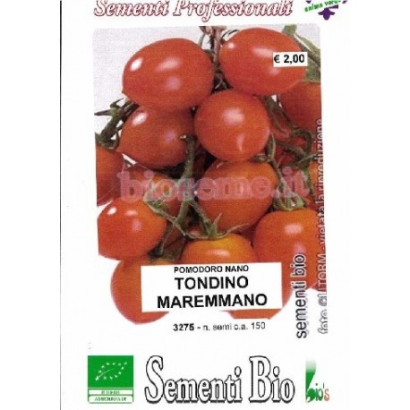 tomate cherry rojo tondino maremmano (semillas ecológicas)