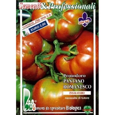 semillas ecológicas de tomate pantano romanesco