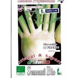 hinojo de Florencia semillas ecológicas