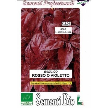 semillas de albahaca purpura ecologicas - albahaca morada - www.planetasemilla.es