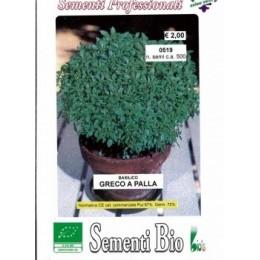 albahaca griega (semillas ecológicas)