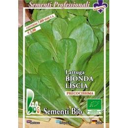 lechuga rubia lisa de tallo semillas ecológicas