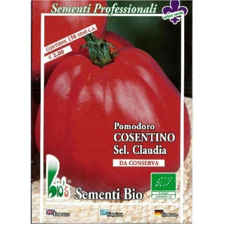 tomate cosentino (red pear) semillas ecológicas