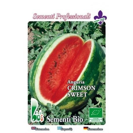 sandia crimson sweet semillas ecologicas