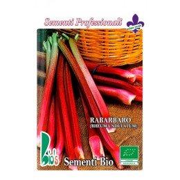 ruibarbo (rheum undulatum) - semillas ecológicas