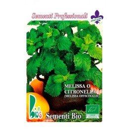 melisa (melissa officinalis) - semillas ecologicas