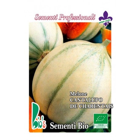 melón cantalupo - semillas ecológicas
