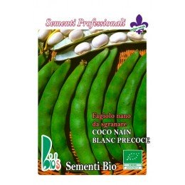 judia coco bianco mata baja (semillas ecologicas)