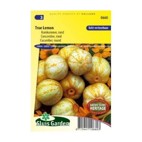 pepino limón - semillas