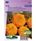 tagete naranja doble Hawaii (Tagetes erecta)