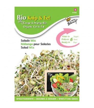 germinados ecológicos - mezcla para ensaladas