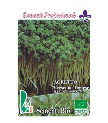 semillas ecológicas de mastuerzo - berro de jardín