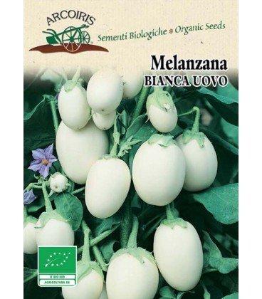 semillas ecologicas de berenjena blanca