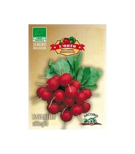 rabanito ciliegia (semillas ecológicas)