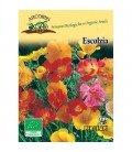 amapola de California (Eschscholzia californica) semillas ecológicas
