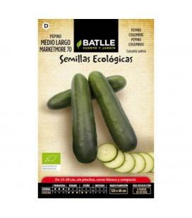 pepino largo marketmore 70 - semillas ecológicas