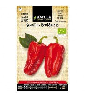 pimiento largo de Reus - semillas ecológicas