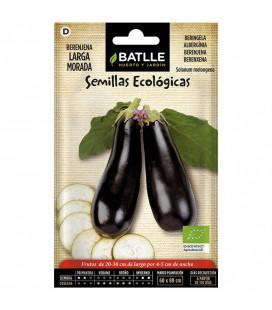 berenjena larga morada - semillas ecológicas