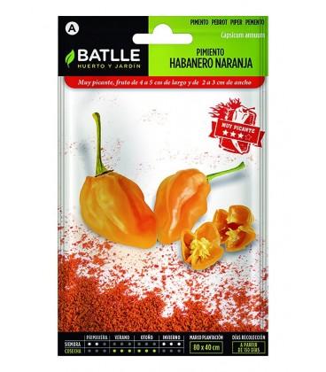 pimiento habanero naranja (semillas sin tratamiento)