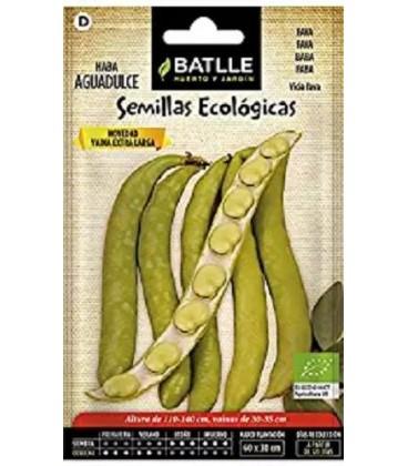 semillas haba ecológica