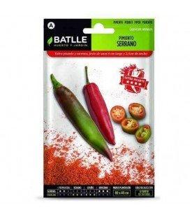 pimiento serrano -semillas Batlle