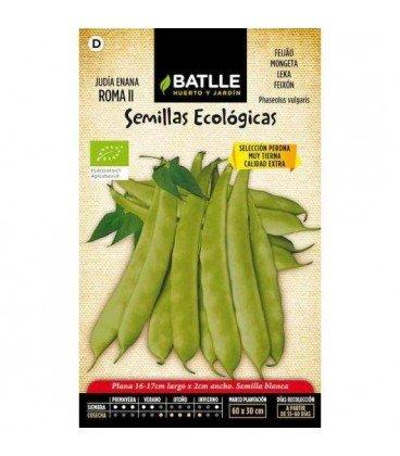 Judía Roma II -semillas ecológicas