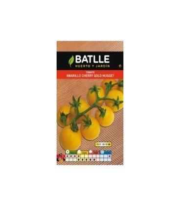 semillas de tomate cherry amarillo gold nugget