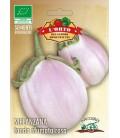 berenjena bianca sfumata di rosa - semillas ecológicas