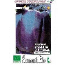 berenjena violeta de Florencia - semillas ecológicas