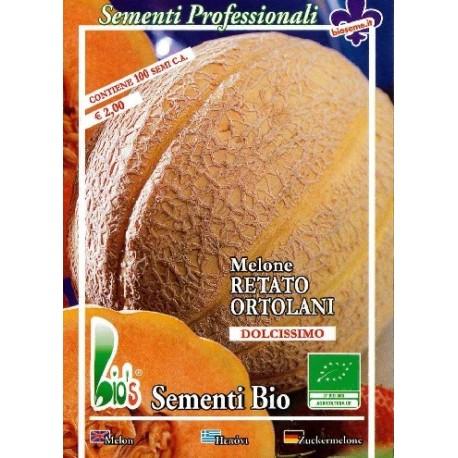 semillas de melon retato ortolani