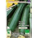 calabacín oscuro de Milán - semillas ecológicas