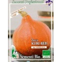 calabaza potimarron tipo hokkaido kuri red - semillas ecologicas