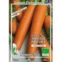 zanahoria nantesa - semillas ecológicas bioseme