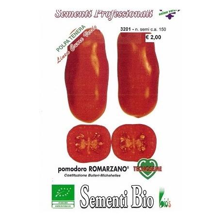 semillas ecológicas de tomate romarzano