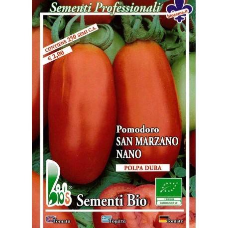 tomate San Marzaro (semillas ecológicas)