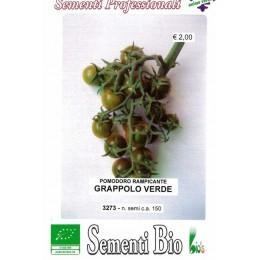 tomate cherry verde - semillas ecológicas