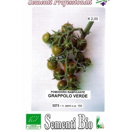 semillas ecológicas de tomate cherry verde