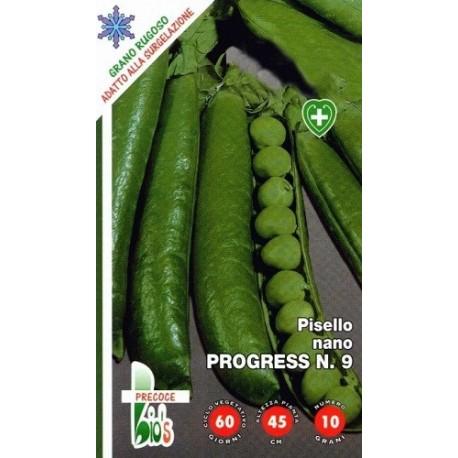 guisante progres - semillas ecológicas
