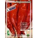 pimiento rojo cuerno de toro (semillas ecológicas)