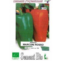 pimiento rojo marconi (semillas ecológicas)
