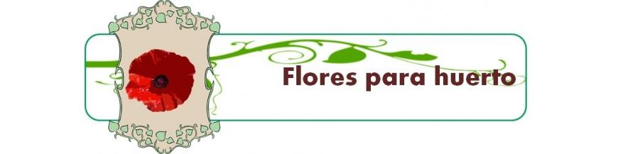 flores para huerto